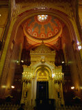 Interior of Central Synagogue, Budapest, Hungary Photographic Print by David Greedy