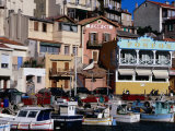 Harbour of Vallon Des Auffes, Marseille, France Photographic Print by Jean-Bernard Carillet