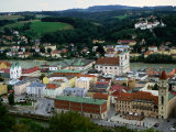 City on Banks of River Inn, Passau, Germany Photographic Print by Wayne Walton