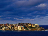 North Bondi Headland at Sunset, Sydney, Australia Fotografisk tryk af Paul Beinssen