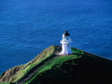Cape Reinga Lighthouse on Northern Tip of New Zealand, New Zealand Photographic Print by Grant Dixon
