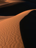 Untouched Dune in the Awbari Sand Sea, Awbari, Libya Photographic Print by Doug McKinlay