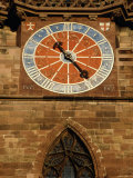Clocktower of Frieburg Cathedral, Baden-Wurttemberg, Germany Photographic Print by Mark Daffey