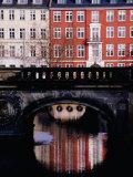 Houses on Gammelstrand, Copenhagen, Denmark Fotografisk tryk af Izzet Keribar