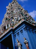 Sri Srinviasa Perumal Temple, Large Complex Devoted to Vishnu, Singapore Photographic Print by Glenn Beanland