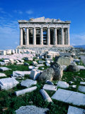 Parthenon at Acropolis (Sacred Rock), Athens, Greece Photographic Print by Izzet Keribar