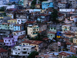 Houses in Las Penas District, Guayaquil, Ecuador Photographic Print by Richard I'Anson