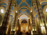 Inside St. Lorenzo Cathedral, Alba, Italy Photographic Print by Martin Moos