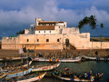 Castle of St. George, Old Gold and Slave Trading Centre, Elmina, Ghana Fotodruck von Ariadne Van Zandbergen