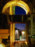 Iron Gate of Diocletian's Palace, Split, Croatia Photographic Print by Wayne Walton
