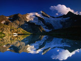Reflection of Wilder-Freiger on Stubai Hohenweg Walking Route, Tirol, Austria Photographic Print by Gareth McCormack