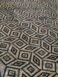 Mosaic Floor in Roman Ruins, Conimbriga, Portugal Photographic Print by Bethune Carmichael