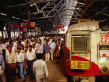 Victoria Terminus Train Station, Mumbai, Chennai, India Photographic Print by Eddie Gerald