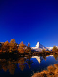 "Peak of the ""Matterhorn,"" Zermatt, Valais, Switzerland Photographic Print by Thomas Winz"
