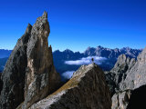 Pinnacle on Southern Spur of Monte Propera, Dolomiti Di Sesto Natural Park,Italy Photographic Print by Grant Dixon
