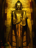 Konagamana Buddha of the Ananda Temple (Patho), Bagan, Mandalay, Myanmar (Burma) Photographic Print by Anders Blomqvist