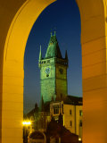 Old Town Hall Clock Tower in Old Town Square, Prague, Czech Republic Photographie par Richard Nebesky