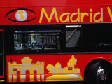 Madrid Sightseeing Bus, Madrid, Spain Photographic Print by Krzysztof Dydynski