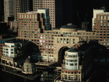 Rowes Wharf Buildings, Boston, Massachusetts, USA Photographic Print by Lou Jones