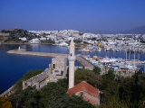 Marina from the Castle of St. Peter, Overlooking Salmakis Bay, Bodrum, Turkey Photographic Print by Simon Richmond