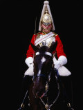 Member of Horse Guards Riding Horse, London, England Photographic Print by Richard I'Anson