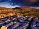 Limestone Landscape of the Burren Near Fanore, Burren, County Clare, Ireland Photographic Print by Gareth McCormack