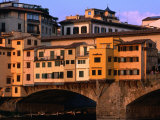 Ponte Vecchio, Florence, Tuscany, Italy Photographic Print by Dallas Stribley