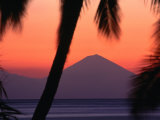 Bali at Sunset from Senggigi, Senggigi, Indonesia Photographic Print by John Banagan