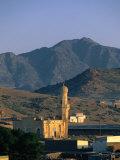 Mosque of Nakfa Exterior, Nakfa, Eritrea Fotografisk tryk af Frances Linzee Gordon