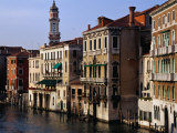 Grand Canal from Rialto Bridge Venice, Italy Photographic Print by Glenn Beanland