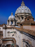 Dome of St. Peter's Basilica, Vatican City Photographic Print by Glenn Beanland