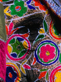 Close-Up of an Elephant, Brightly Painted for the Elephant Festival, Jaipur,Rajasthan, India Photographic Print by Anders Blomqvist