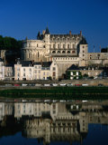 15th Century Chateau d'Amboise and Loire River, Amboise, France Photographic Print by Martin Moos