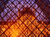 The Louvre Through It's Glass Pyramid, Paris, France Photographic Print by Richard I'Anson