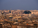 Centro Storico from Gianicola, Rome, Italy Photographic Print by Martin Moos
