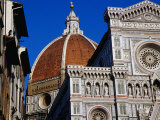 Looking Up at Duomo, Florence, Tuscany, Italy Photographic Print by Glenn Beanland