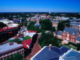 City Viewed from State House, Annapolis, USA Photographic Print by Richard I'Anson