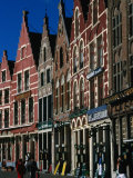Guild Houses on Markt, Bruges, Belgium Photographic Print by Martin Moos