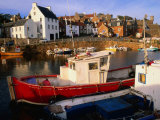 Boats in Crail Harbour Crail, Fife, Scotland Photographic Print by Glenn Beanland