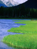 Vermillion Lakes, Banff National Park, Alberta, Canada Photographic Print by Lawrence Worcester