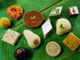 Indian Sweets, India Photographic Print by Greg Elms