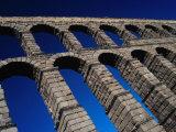 Roman Aqueduct Built in 1st Century AD, Segovia, Castilla-Y Leon, Spain Photographic Print by Krzysztof Dydynski