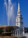 St Martin-In-The-Fields Church, Trafalgar Square, London, England Photographic Print by Doug McKinlay