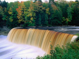 Upper Falls in Tahquamenon Falls State Park, USA Photographic Print by Charles Cook