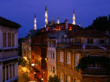 Buildings and Minarets in Sultanahmet, Istanbul, Turkey Photographic Print by Greg Elms