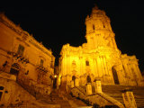 Cathedral San Giorgio, Modica, Italy Photographic Print by Wayne Walton