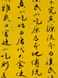 Calligraphy Script on Wall, Dongcheng, Beijing, China, Photographic Print by Phil Weymouth