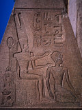 Detail on Fallen Obelisk of Hatshepsut at Karnak Temple in Ancient Thebes, Luxor, Egypt Photographic Print by Anders Blomqvist