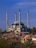 Selimiye Mosque, Edirne, Turkey Photographic Print by Izzet Keribar