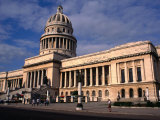 Exterior of El Capitolio Nacional, Havana, Cuba Photographic Print by Rick Gerharter